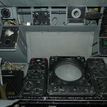 Poste opérateur radar ATL1  avec légende